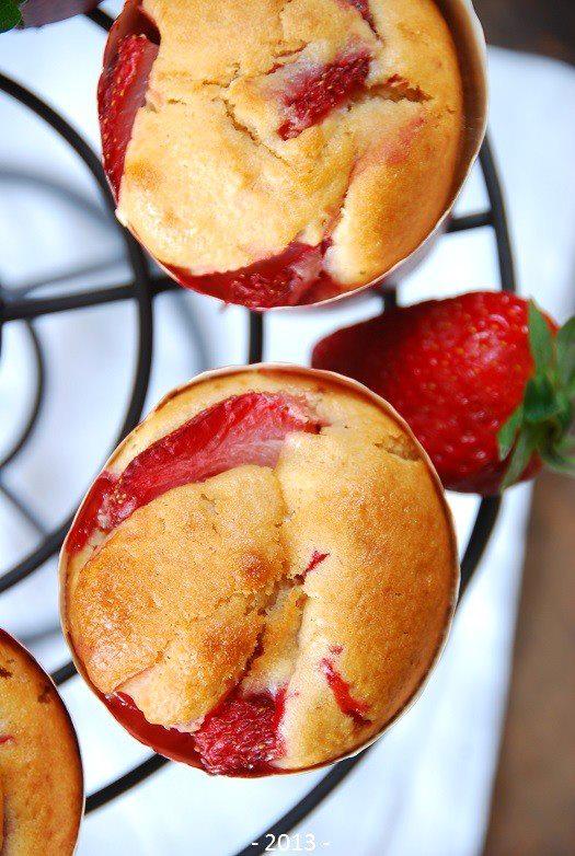 muffinki truskawkowe maslanka4