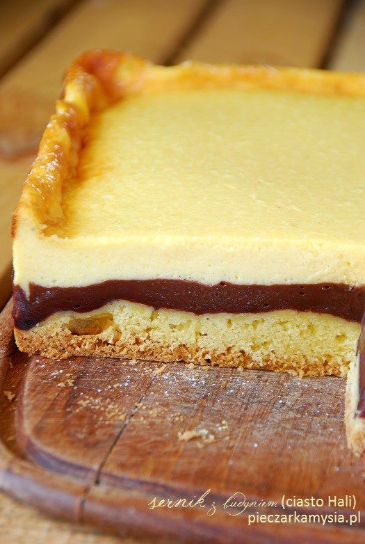 sernik z budyniem (ciasto Hali)1