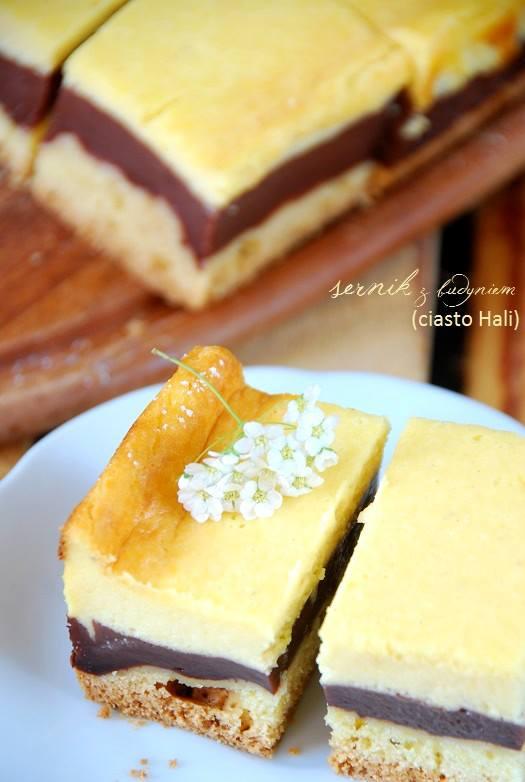 sernik z budyniem (ciasto Hali)2