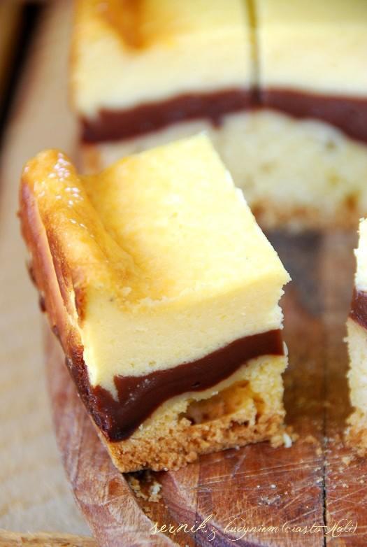 sernik z budyniem (ciasto Hali)4