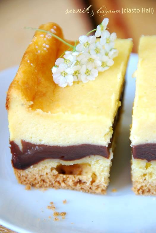 sernik z budyniem (ciasto Hali)5