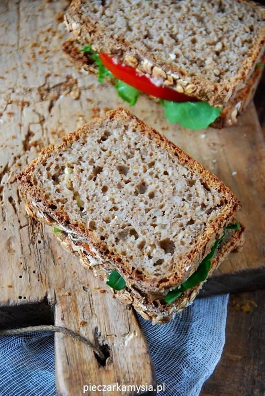 Chleb żytni na zakwasie z pestkami dyni3