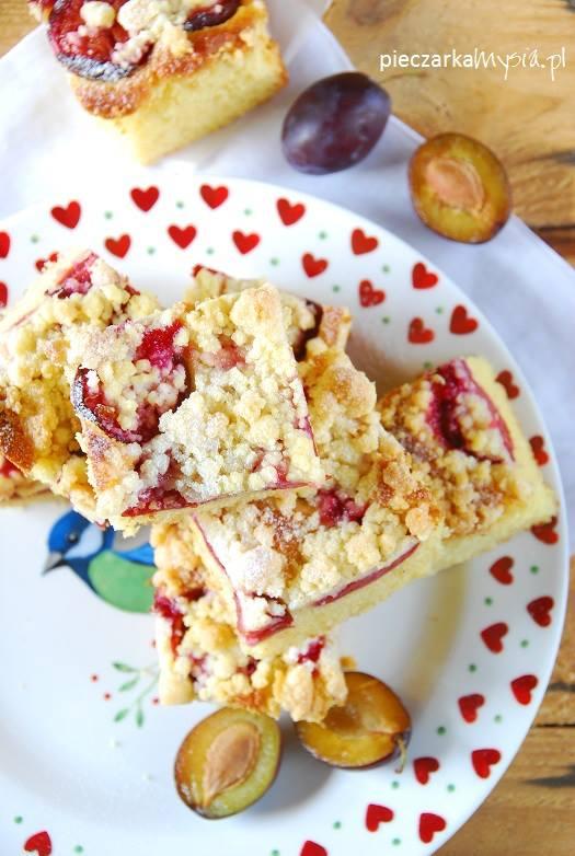 Ciasto drożdżowe ze śliwkami i kruszonką6