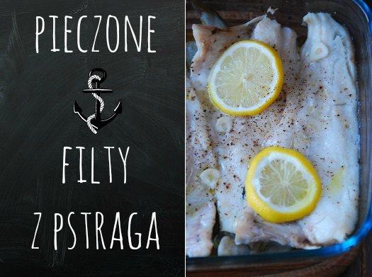 pieczone filety z pstraga1
