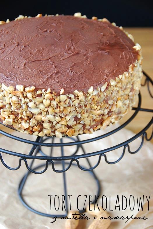 tort czekoladowy z nutella i mascarpone21
