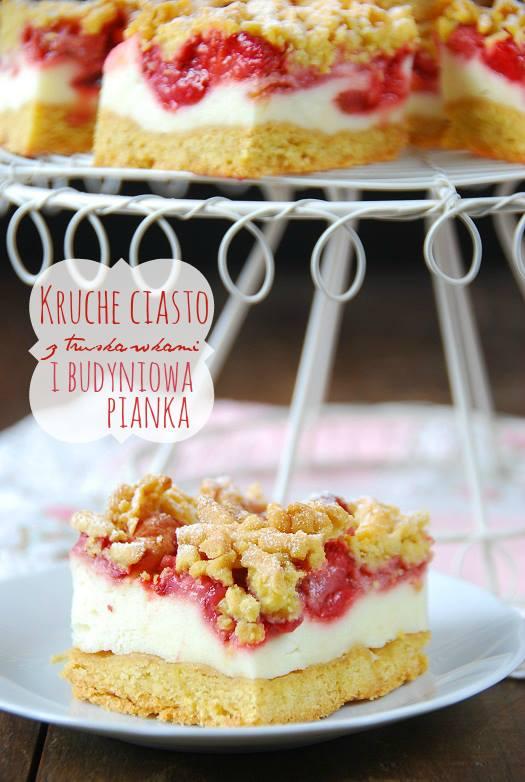 ciasto z truskawkami kruche ciasto1