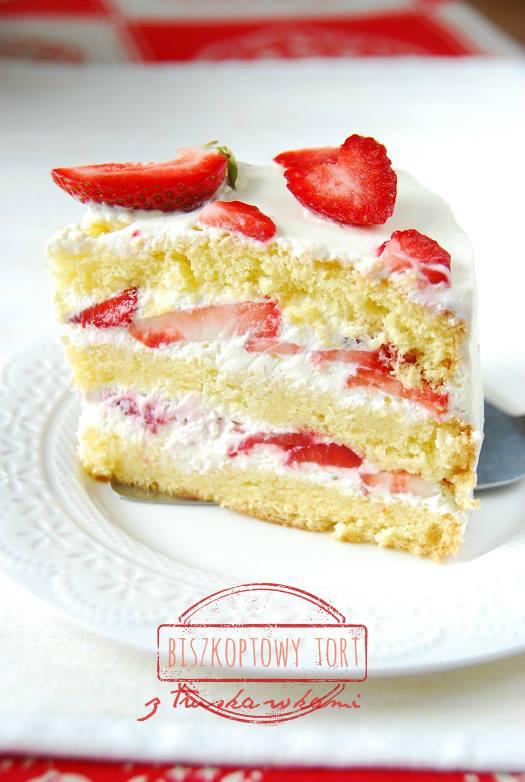 tort z truskawkami biszkopt2 (2)
